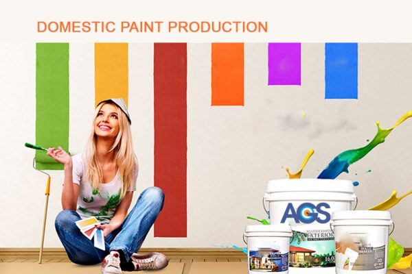 AGS Domestic paint production