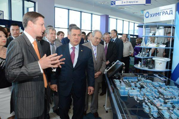 President of Tatarstan Rustam Minnikhanov